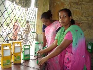 Sampurna - Solar-Technikerinnen in Calcutta-600